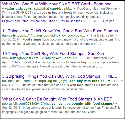 Why Do You Judge How I Use My Food Stamps An Open Letter To News Writers